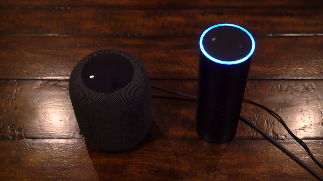 Amazon Echo Vs Apple