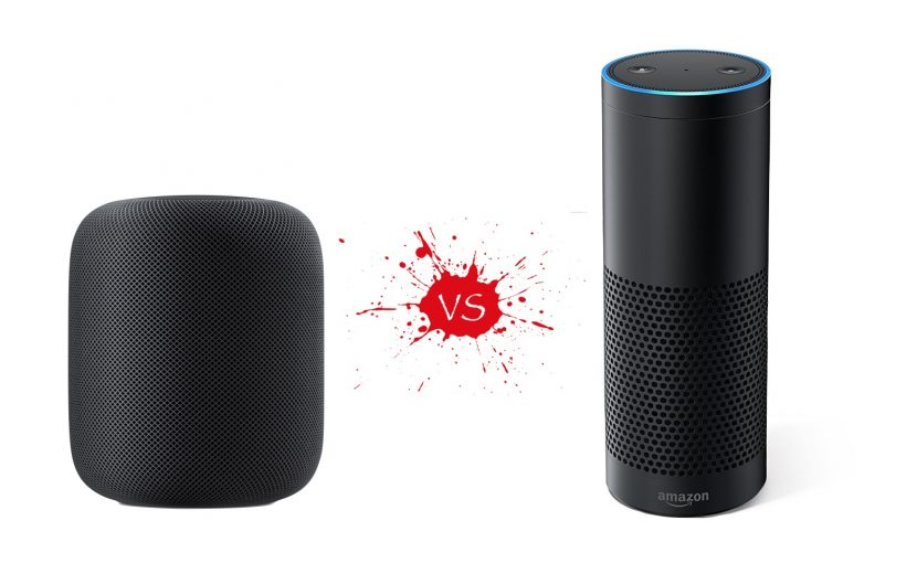 Amazon Echo Vs Apple Homepod